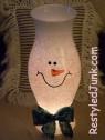 Snowman Hurricane Shade